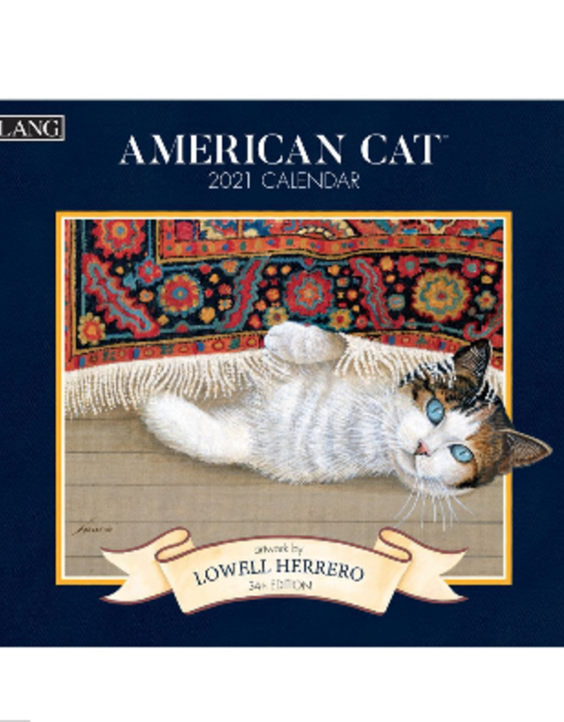 LANG COMPANIES 2021 Wall Calendar (AMERICAN CAT)