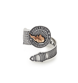 ALEX AND ANI LIBERTY COPPER | CARRY LIGHT™ Spoon Ring