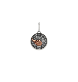 ALEX AND ANI LIBERTY COPPER | CARRY LIGHT™ Necklace Charm, Small