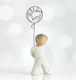 Willow Tree Figurines-Birthday Boy