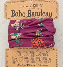 NATURAL LIFE CREATIONS BOHO BANDEAU BERRY STEMS