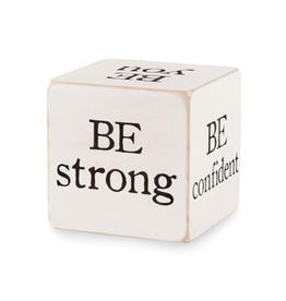 MUDPIE BE STRONG SENTIMENT BLOCK
