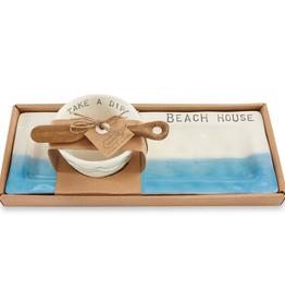 MUDPIE BEACH HOUSE APPETIZER SET
