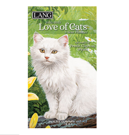 LANG COMPANIES 2021 LOVE OF CATS 2-YEAR PLANNER