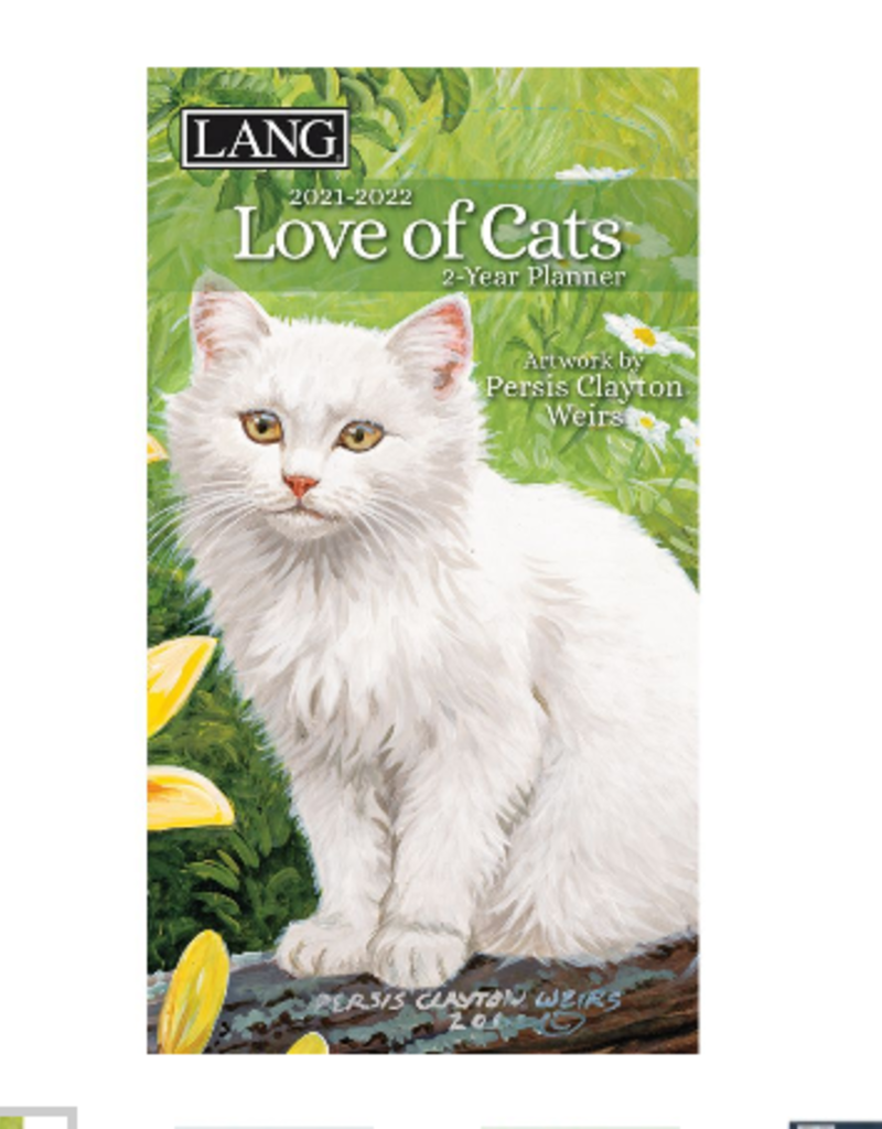 LANG COMPANIES 2021 2-Year Planner (LOVE OF CATS)