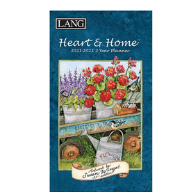 LANG COMPANIES 2021 HEART & HOME 2-YEAR PLANNER