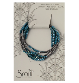 SCOUT CURATED WEARS SCOUT WRAP PEACOCK/HEMATITE
