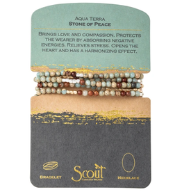 SCOUT CURATED WEARS Aqua Terra - Stone of Peace
