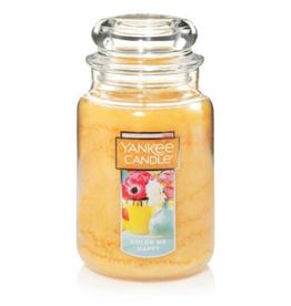 YANKEE CANDLE 22oz Jar Color Me Happy