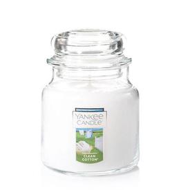YANKEE CANDLE 14oz Jar Clean Cotton