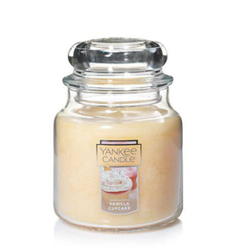 YANKEE CANDLE 14oz Jar Vanilla Cupcake