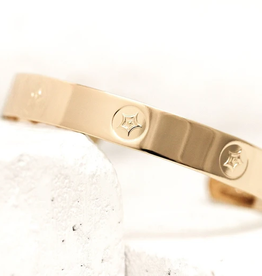 PIECES OF ME Cuff Bracelet-Passionate/Gold