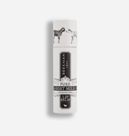 BEEKMAN 1802 INC PURE GOAT MILK FRAGRANCE FREE  LIP BALM