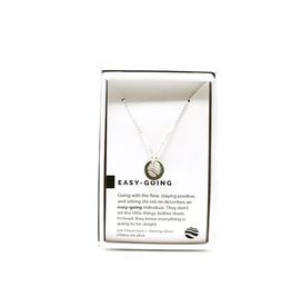 PIECES OF ME Necklace-Easy-Going/Silver
