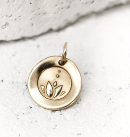 PIECES OF ME Necklace Charm-Honest/Gold