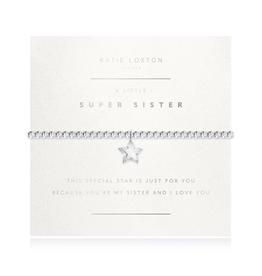 KATIE LOXTON Faceted A Little Super Sister Bracelet