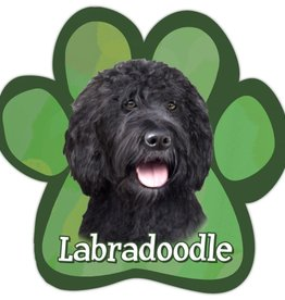 E&S IMPORTS Car Magnets Labradoodle