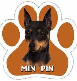 E&S IMPORTS Car Magnets Miniature Pinscher