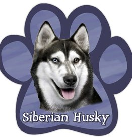 Car Magnets Siberian Husky