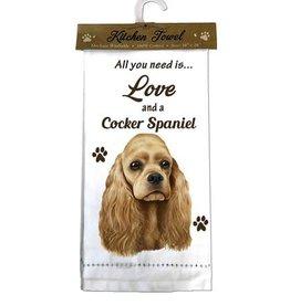 Kitchen Towel Cocker Spaniel