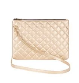 SCOUT Abby Crossbody - Quilted Gold