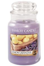 YANKEE CANDLE 22oz Jar Lemon Lavendar