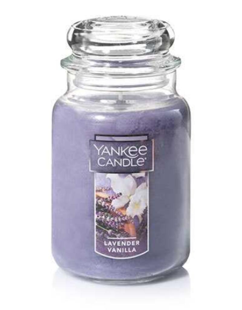 YANKEE CANDLE 22oz Jar Lavendar Vanilla