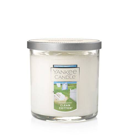 YANKEE CANDLE 7oz  Tumbler Clean Cotton