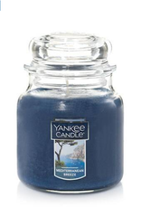YANKEE CANDLE 14oz Jar Mediterranean Breeze