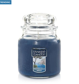 YANKEE CANDLE 14oz Jar Mediterranean Breeze
