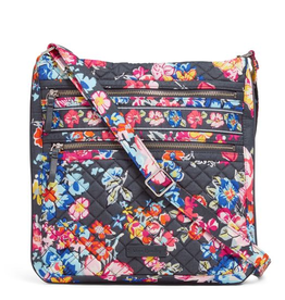 Iconic Triple Zip Hipster Pretty Posies