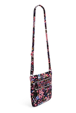 VERA BRADLEY Iconic Triple Zip Hipster Foxwood