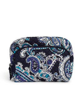 Iconic Lay Flat Cosmetic Deep Night Paisley Neutral