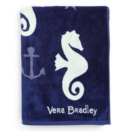 Beach Towel Jacquard Seahorse of Course