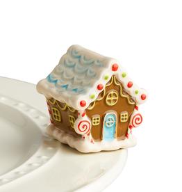 NORA FLEMING Mini Candyland Lane Gingerbread House