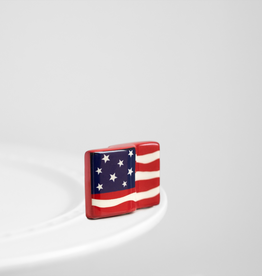 NORA FLEMING Mini Stars& Stripes Forever American Flag