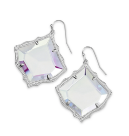 KENDRA SCOTT Kirsten Earring Rhod Dichroic Glass