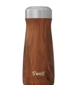 S'WELL 16 OZ Teakwood Traveler