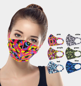 WONA TRADING INC Face Mask Camo