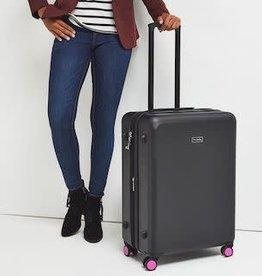 VERA BRADLEY Luggage Hardside Large Spinner Classic Black