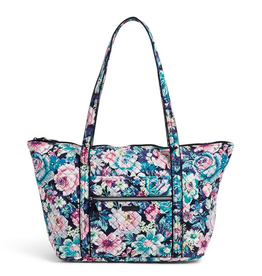 VERA BRADLEY Iconic Miller Travel Bag Garden Grove