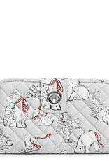 Iconic RFID Turnlock Wallet Beary Merry