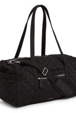 Iconic Medium Travel Duffel Black Performance Twill