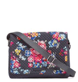 VERA BRADLEY Iconic Turnabout Crossbody Pretty Posies