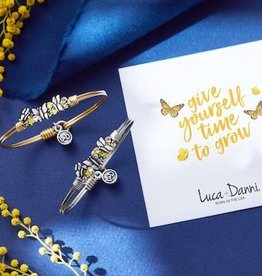 LUCA & DANNI Bangle Bracelet Butterfly Medley: Give Yourself Time To Grow