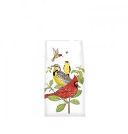 MARY LAKE THOMPSON Flour Sack Towel Stacked Bird Branch
