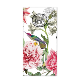 MICHEL DESIGN WORKS POCKET TISSUES PEONY