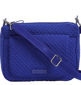 VERA BRADLEY Carson Mini Shoulder Bag Gage Blue