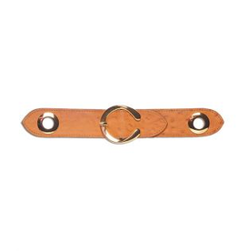BEEBS&BESS SCARF BELT OSTRICH LEATHER