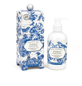 MICHEL DESIGN WORKS Indigo Cotton Lotion